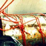Orličtí vrazi, shození prvního sudu, Orlická přehrada