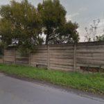 Jaderné hlavice v Česku, Hranice, betonové neprůhledné oplocení