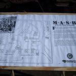 M*A*S*H, místo natáčení seriálu, informační panel, východ, dnes