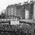StB, sídlo Pankrácká věznice, po válce, náměstí poprav, Soudní náměstí, šibenice
