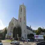 Sestra v akci, natáčení, Grant Hall, Hollywood United Methodist Church