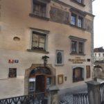 Tajné schůzky StB, krycí název místa:Blok,Hotel U tří pštrosů