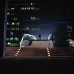 Dobytí Planety opic, Caesar, bitva o město, záběr č.2,Avenue of the Stars, Century City, most
