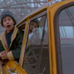 Sám doma 2: Ztracen v New Yorku, Kevin jede do New Yorku,Queensboro Bridge