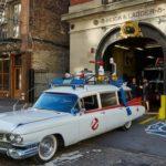 Krotitelé duchů, Ghostbusters, požární zbrojnice, Stanice 8, New York