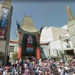 Čínské divadlo Grauman´s Chinese Theatre, stopy známých osobností v betonu